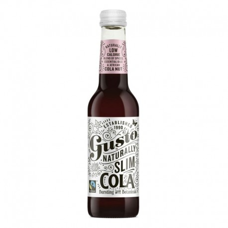 Gusto Naturally Slim Cola 275ml