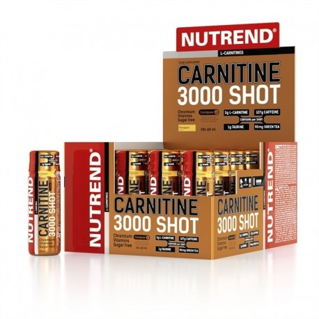 Carnitine 3000 Shot 20x60ml jahoda