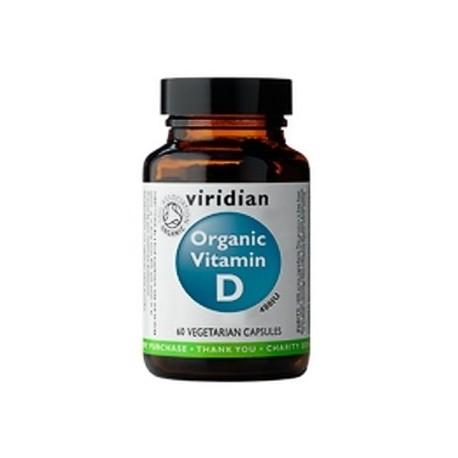 Vitamin D 60 kapslí Organic