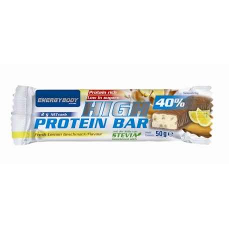 Tyčinka High Protein 40% 50g citron