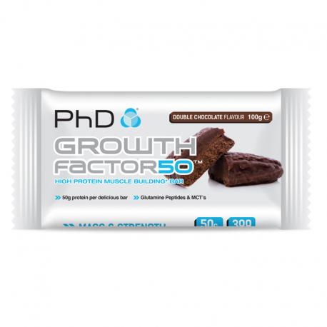 Tyčinka Growth Factor 50% 100g čokoláda