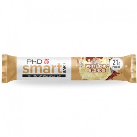 Smart Bar 64g white choc blondie