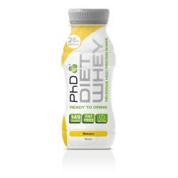 Diet Whey Shake 330 ml banán