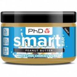 Peanut Butter 500g white choc cookies & cream