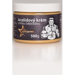 Arašídový krém s bílou čokoládou 500g