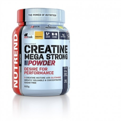 Creatine Mega Strong Powder 500g punč-lesní plody